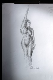 Life drawing Laura Carter