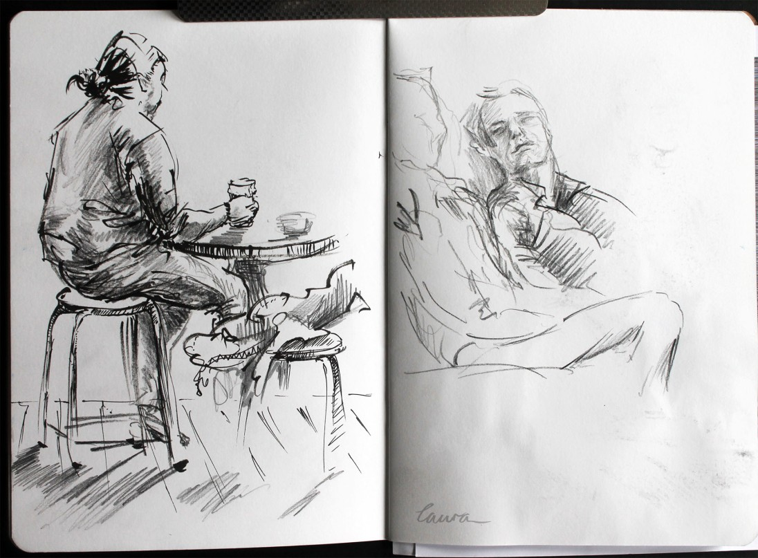 Urban sketcher '17 Laura Carter