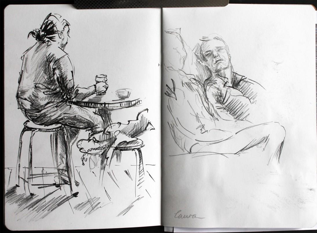 Urban sketcher '17 Laura Carter