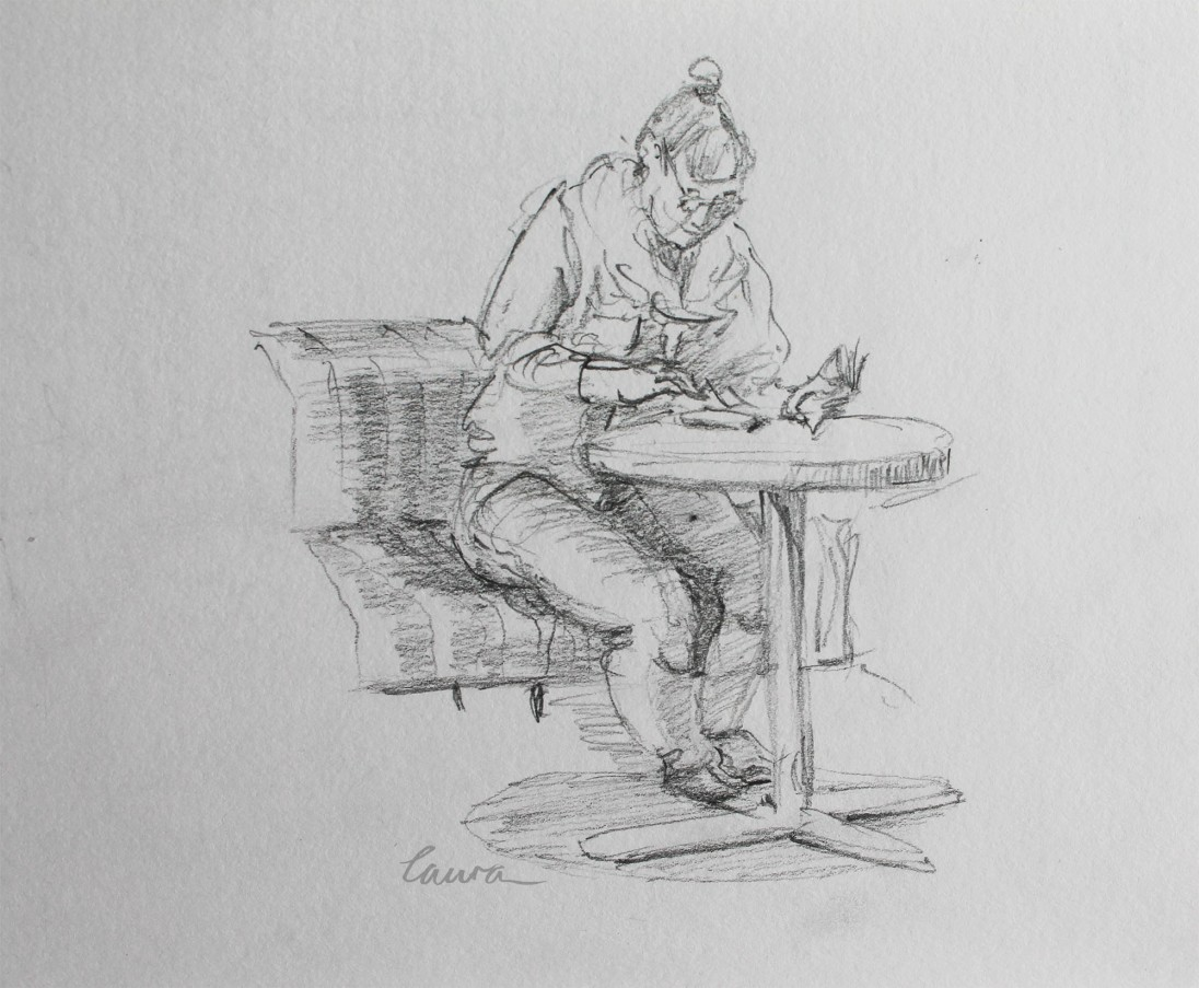 Urban sketching Laura Carter May 17